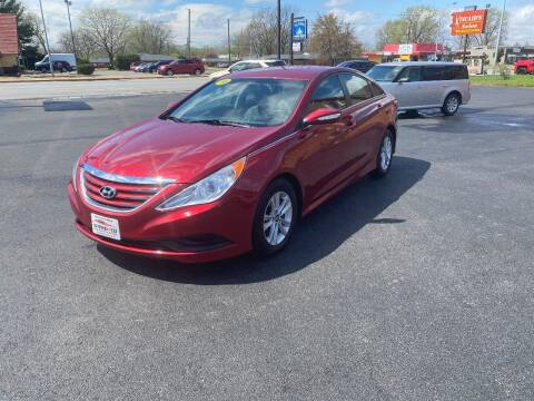 2014 Hyundai Sonata for sale at Approved Automotive Group in Terre Haute IN