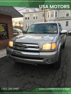 2004 Toyota Tundra for sale at USA Motors in Revere MA