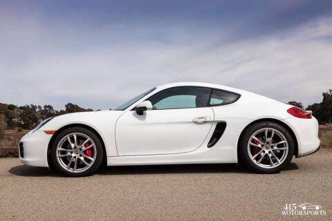 2016 Porsche Cayman for sale at 415 Motorsports in San Rafael CA