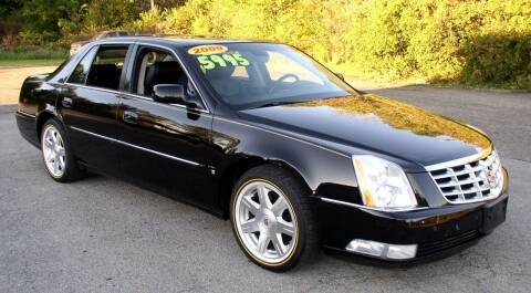 2009 Cadillac DTS for sale at Angelo's Auto Sales in Lowellville OH