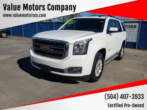 2015 GMC Yukon for sale at Value Motors Company in Marrero LA