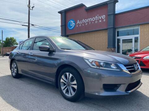 2014 Honda Accord for sale at Automotive Solutions in Louisville KY