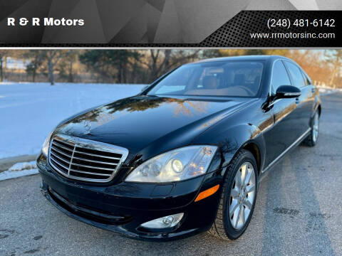 2007 Mercedes-Benz S-Class for sale at R & R Motors in Waterford MI