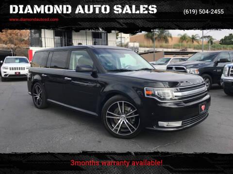 2013 Ford Flex for sale at DIAMOND AUTO SALES in El Cajon CA