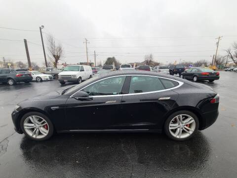 2013 Tesla Model S for sale at Silverline Auto Boise in Meridian ID