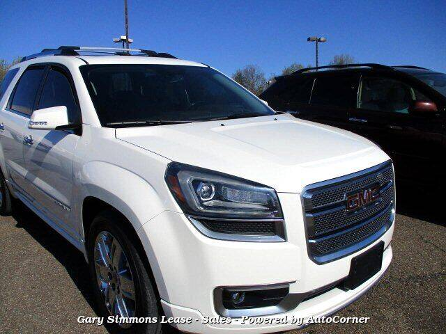 2014 GMC Acadia for sale at Gary Simmons Lease - Sales in Mckenzie TN