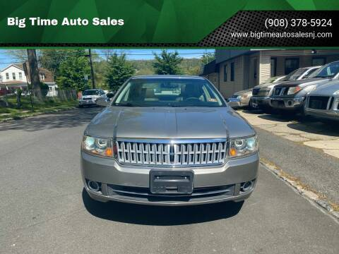 2008 Lincoln MKZ for sale at Big Time Auto Sales in Vauxhall NJ