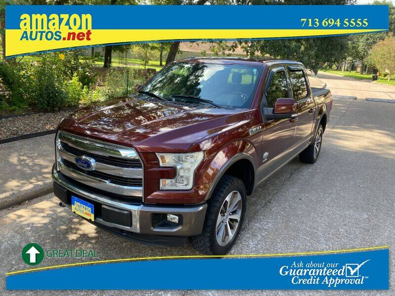 2015 Ford F-150 for sale at Amazon Autos in Houston TX
