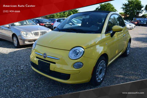 2012 FIAT 500c for sale at American Auto Center in Austin TX