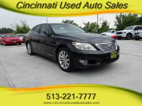 2010 Lexus LS 460 for sale at Cincinnati Used Auto Sales in Cincinnati OH