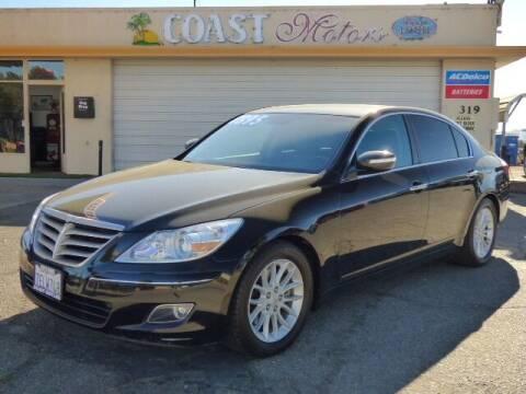 2010 Hyundai Genesis for sale at Coast Motors in Arroyo Grande CA