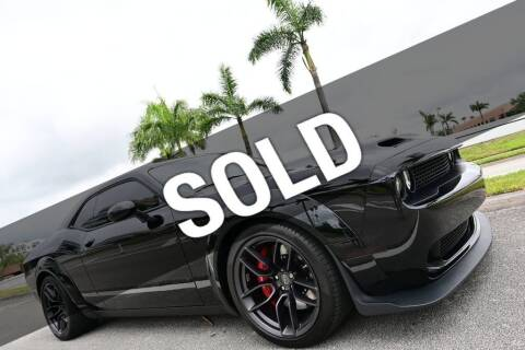2019 Dodge Challenger for sale at MOTORCARS in West Palm Beach FL