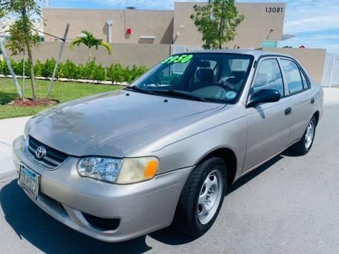 2002 Toyota Corolla for sale at LA Motors Miami in Miami FL