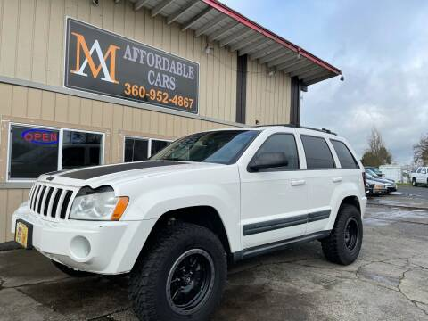 2006 Jeep Grand Cherokee for sale at M & A Affordable Cars in Vancouver WA