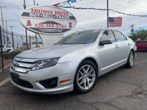 2012 Ford Fusion for sale at Arizona Drive LLC in Tucson AZ
