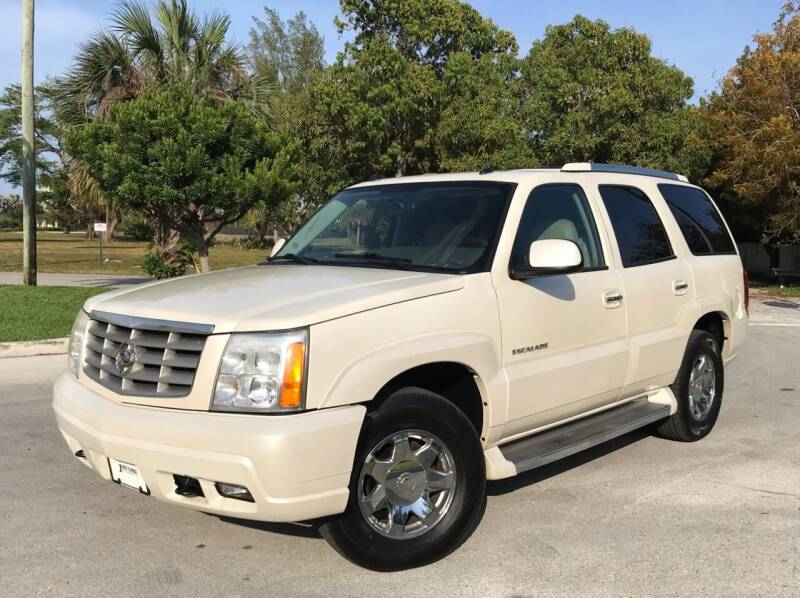2005 Cadillac Escalade for sale at FIRST FLORIDA MOTOR SPORTS in Pompano Beach FL