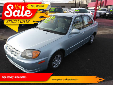 2005 Hyundai Accent for sale at Speedway Auto Sales in Yakima WA