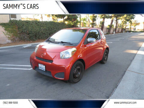 """2012 Scion iQ for sale at SAMMY""""S CARS in Bellflower CA"""