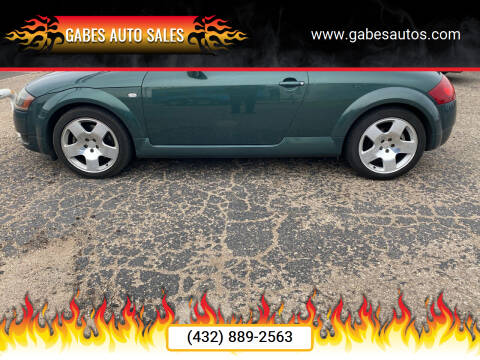 2001 Audi TT for sale at Gabes Auto Sales in Odessa TX