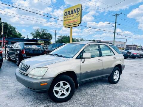 2003 Lexus RX 300 for sale at Grand Auto Sales in Tampa FL