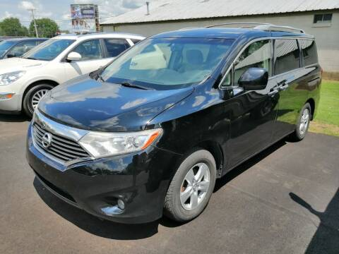 2012 Nissan Quest for sale at KRIS RADIO QUALITY KARS INC in Mansfield OH