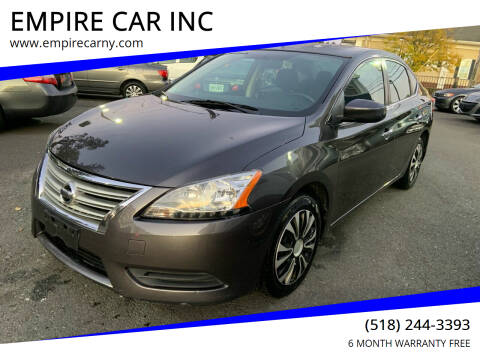 2014 Nissan Sentra for sale at EMPIRE CAR INC in Troy NY