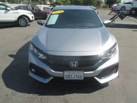 2018 Honda Civic for sale at Quick Auto Sales in Modesto CA