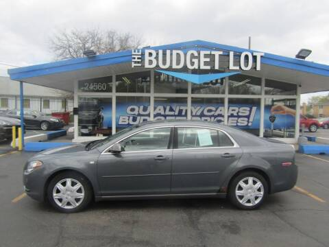 2008 Chevrolet Malibu for sale at THE BUDGET LOT in Detroit MI