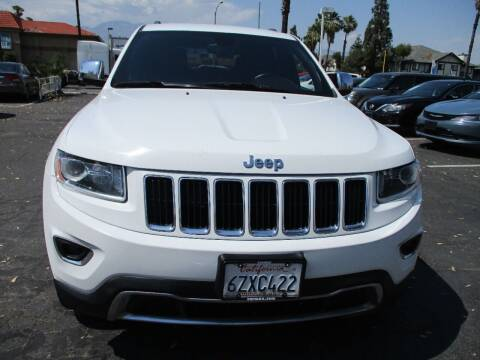 2014 Jeep Grand Cherokee for sale at F & A Car Sales Inc in Ontario CA