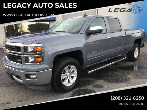 2015 Chevrolet Silverado 1500 for sale at LEGACY AUTO SALES in Boise ID