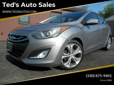 2014 Hyundai Elantra GT for sale at Ted's Auto Sales in Louisville OH
