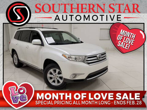 2012 Toyota Highlander for sale at Southern Star Automotive, Inc. in Duluth GA