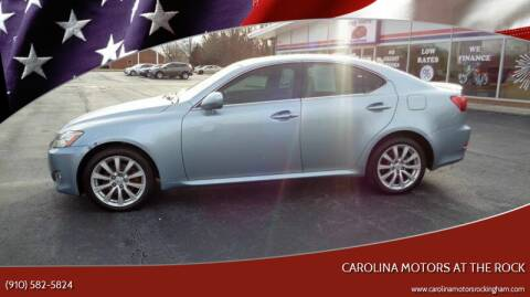 2008 Lexus IS 250 for sale at Carolina Motors at the Rock in Rockingham NC