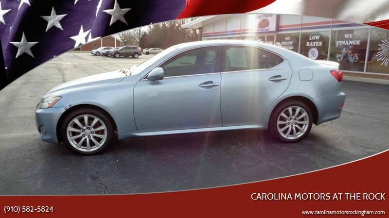 2008 Lexus IS 250 for sale at Carolina Motors at the Rock in Rockingham NC