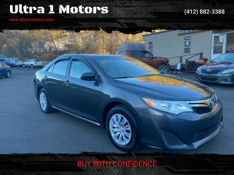 2012 Toyota Camry for sale at Ultra 1 Motors in Pittsburgh PA