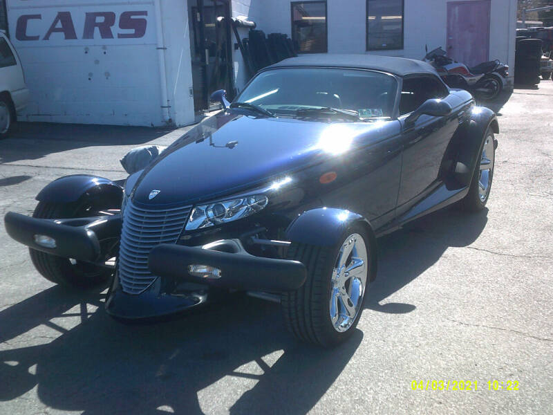 2001 Chrysler Prowler for sale at M & M Inc. of York in York PA