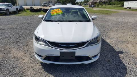 2015 Chrysler 200 for sale at Auto Guarantee, LLC in Eunice LA