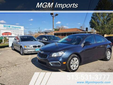 2016 Chevrolet Cruze Limited for sale at MGM Imports in Cincannati OH