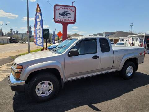 2004 Chevrolet Colorado for sale at Ford's Auto Sales in Kingsport TN