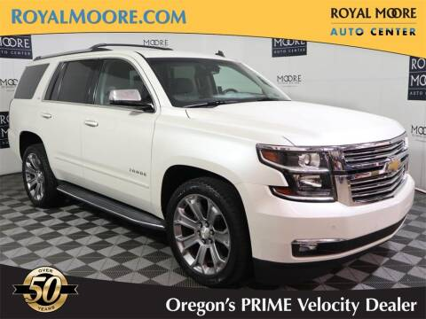 2015 Chevrolet Tahoe for sale at Royal Moore Custom Finance in Hillsboro OR