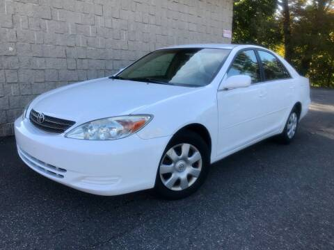 2002 Toyota Camry for sale at J & F Auto Wholesalers in Waterbury CT