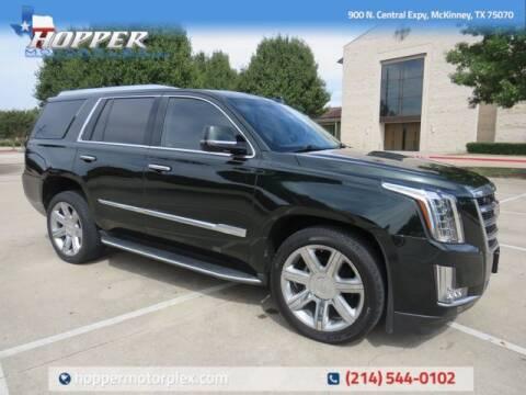 2016 Cadillac Escalade for sale at HOPPER MOTORPLEX in Mckinney TX