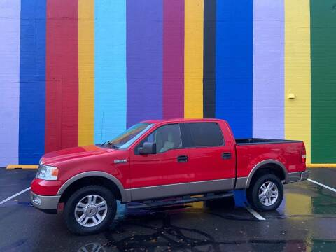 2005 Ford F-150 for sale at JOSE MESA AUTO WHOLESALE , LLC in Portland OR