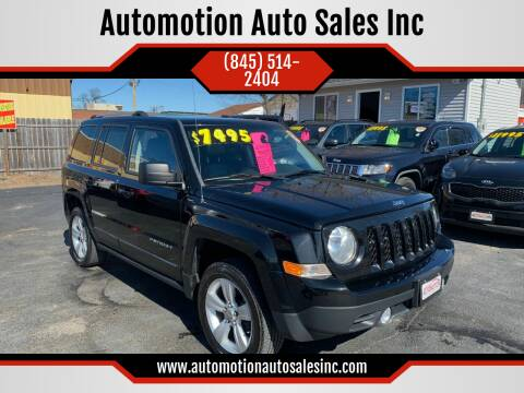2012 Jeep Patriot for sale at Automotion Auto Sales Inc in Kingston NY