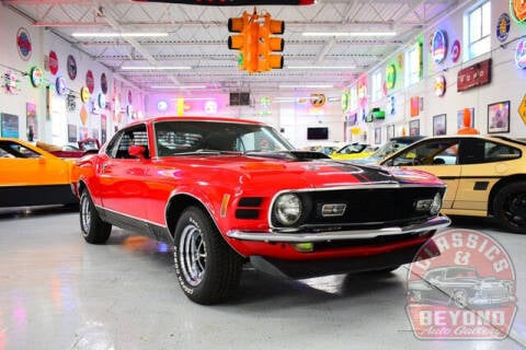 1970 Ford Mustang for sale at Classics and Beyond Auto Gallery in Wayne MI
