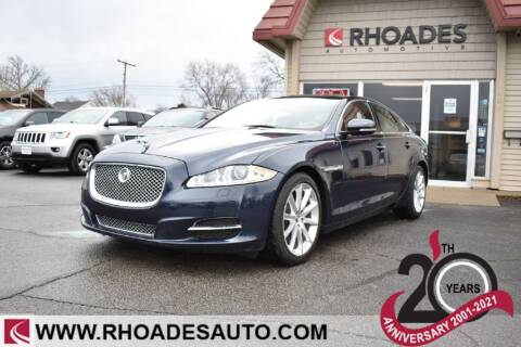 2013 Jaguar XJ for sale at Rhoades Automotive in Columbia City IN