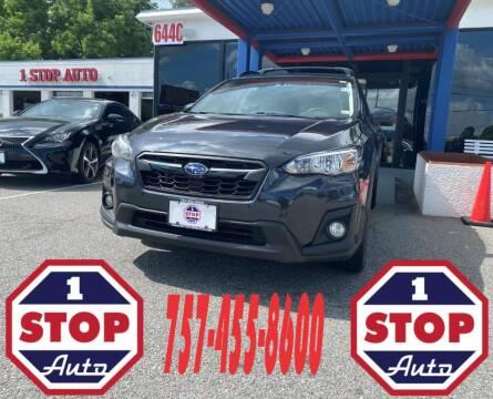 2018 Subaru Crosstrek for sale at 1 Stop Auto in Norfolk VA