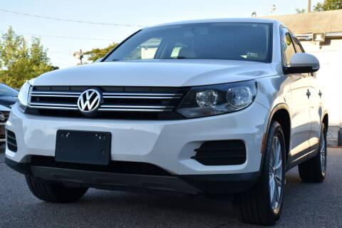 2014 Volkswagen Tiguan for sale at Wheel Deal Auto Sales LLC in Norfolk VA
