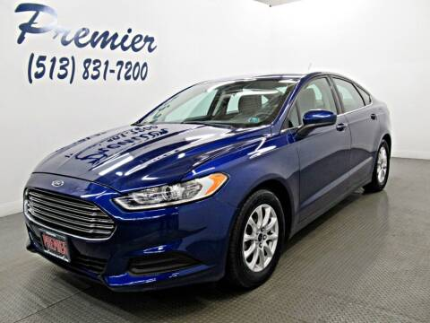 2016 Ford Fusion for sale at Premier Automotive Group in Milford OH