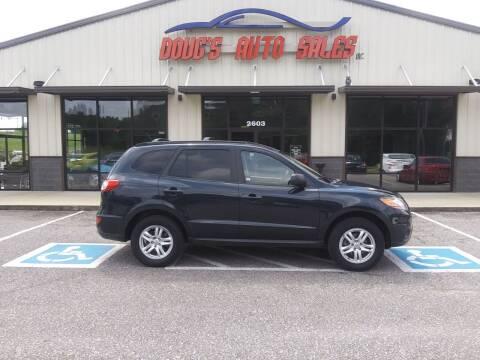 2010 Hyundai Santa Fe for sale at DOUG'S AUTO SALES INC in Pleasant View TN